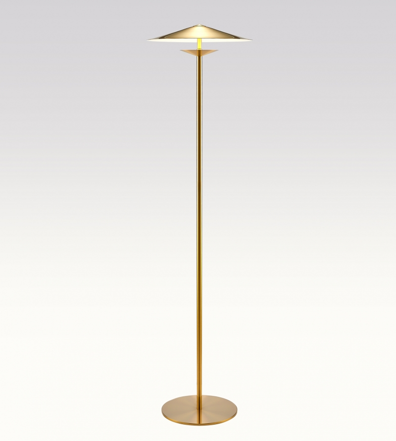 Floor lamp design metal brassed kaishi lamps laos productlaos floor lamp prodtest1 aloadofball Image collections